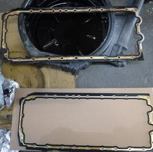 BMW 320i オイル漏れ修理
