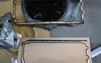 BMW 320i オイル漏れ修理の施工後画像