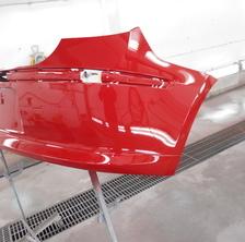 BMW 118i リバンパー修理