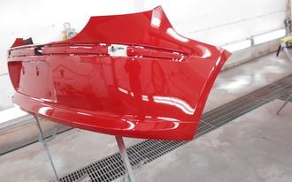 BMW 118i リバンパー修理の施工後画像